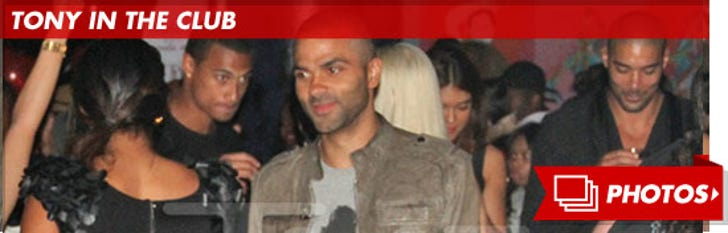 Tony Parker at Clup W.i.P -- Moments Before the Fight