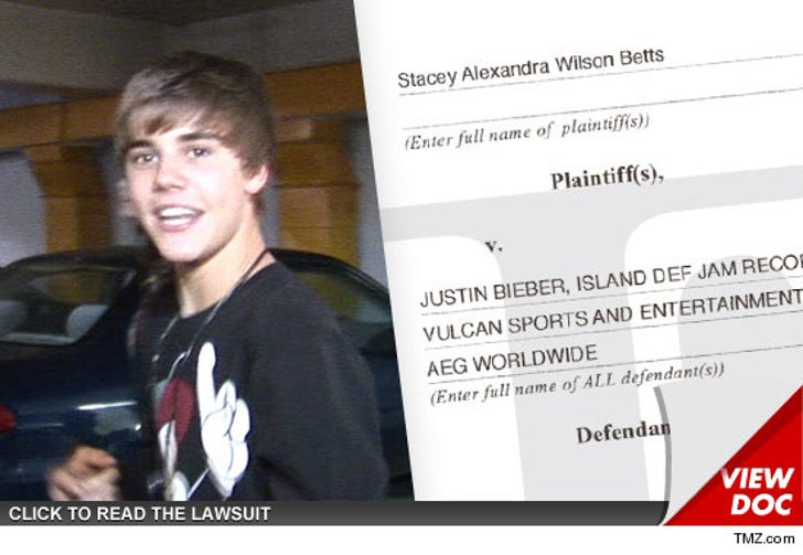 Justin Bieber Sued for $9 Mil -- Screaming Fans Destroyed My Ears