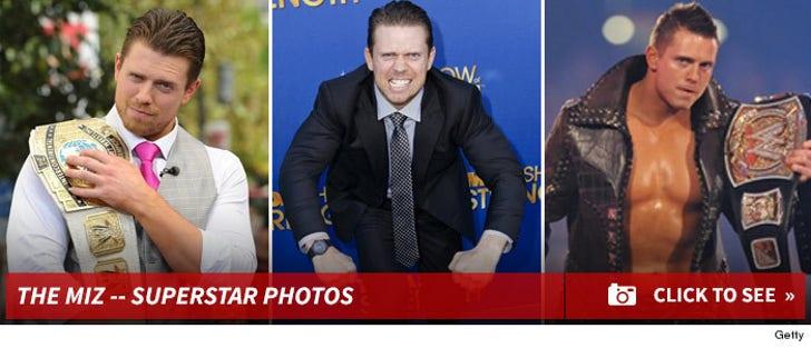 The Miz -- WWE Superstar Photos