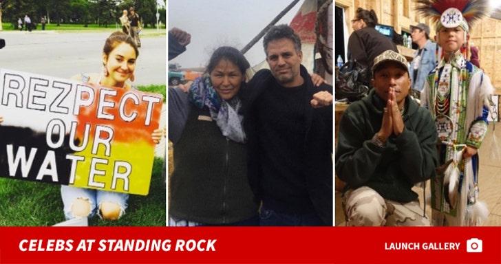 Celebrities at Standing Rock