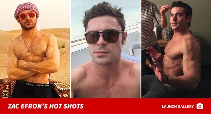 Zac Efron's Hot Shots