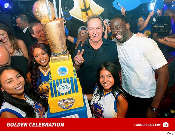Warriors Championship Vegas Celebration