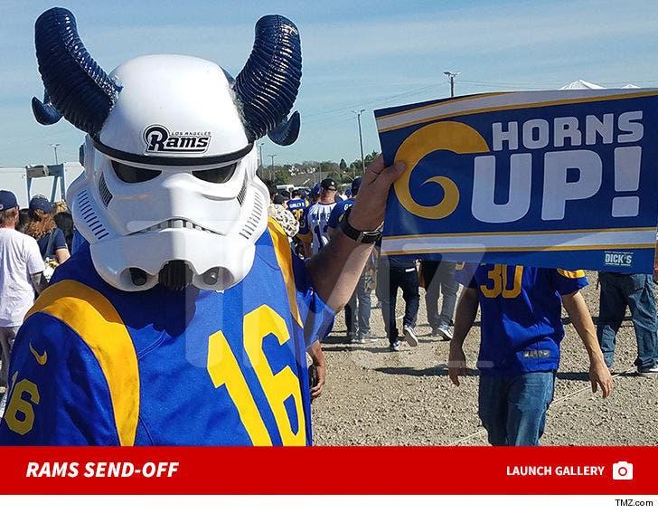 Rams Send-Off