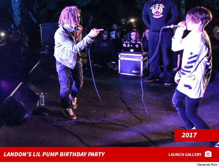 Landon Barker's Lil Pump Birthday Party
