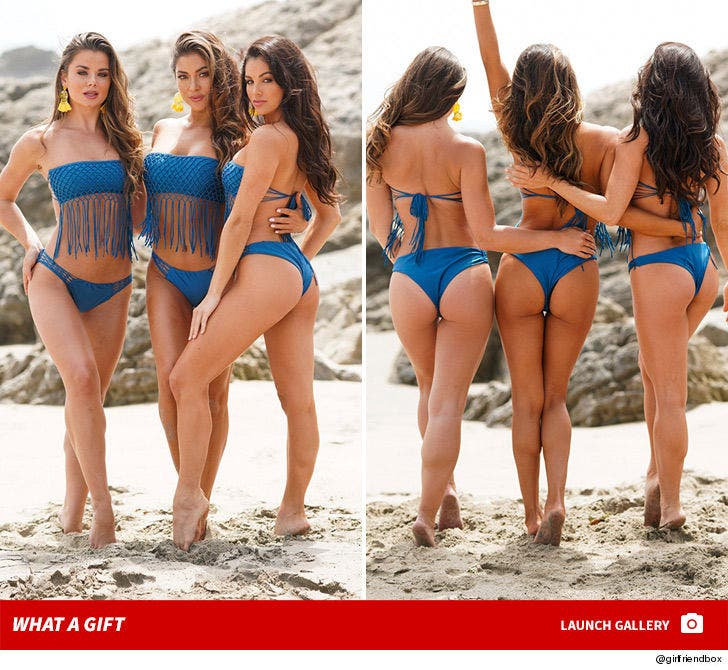 Arianny Celeste and Bombshell Friends in Bikini Photo Shoot