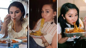 Hot Celebrity Noods – Babes Eating Pasta!