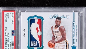 Zion Williamson 1-of-1 Rookie Card Hits Auction Block, Could Fetch $750K!!