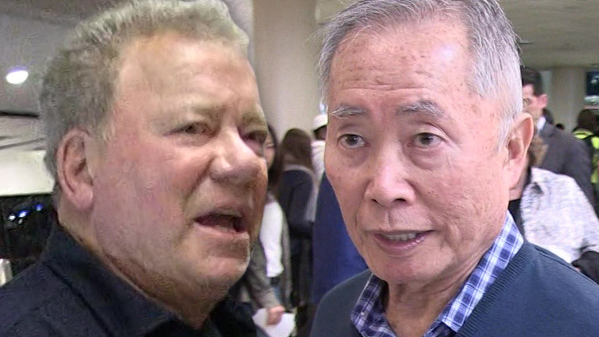 William Shatner Fires Back at George Takei Over 'Guinea Pig' Space Crack thumbnail