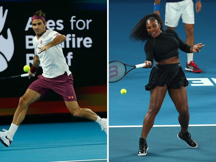 Tennis Stars Take The Court For Rally for Relief
