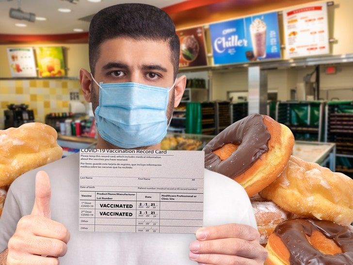 Krispy Kreme Giving Away Free Donuts with COVID Vaccine Proof