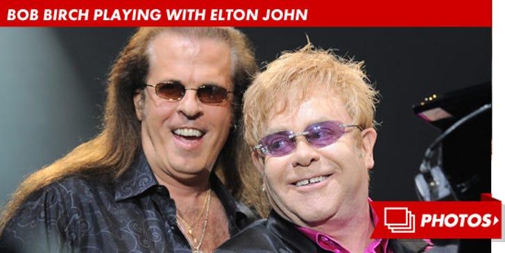 Bob Birch Playing with Elton John