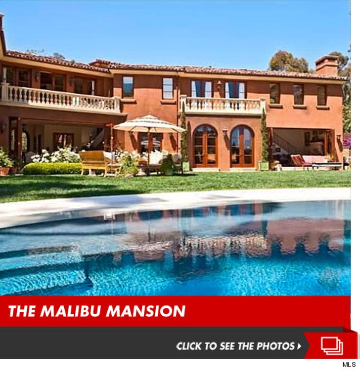 Brooke Burke -- Rent My Giant Malibu Pad ... for $50k A MONTH!