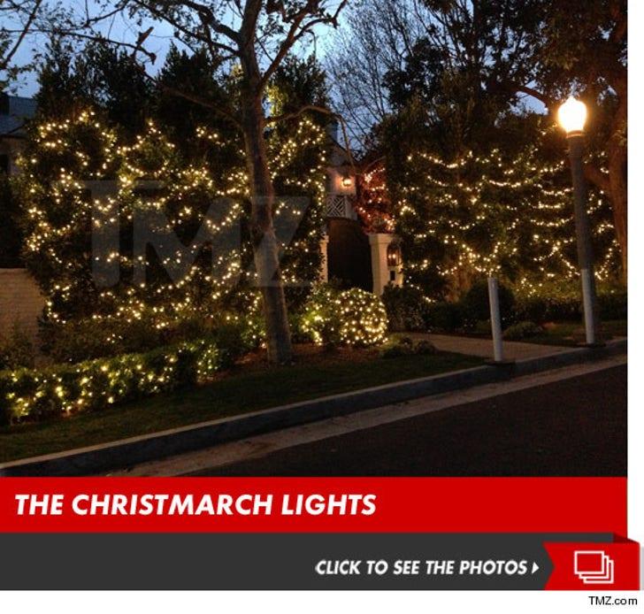 Maria Shriver's Christmarch Lights