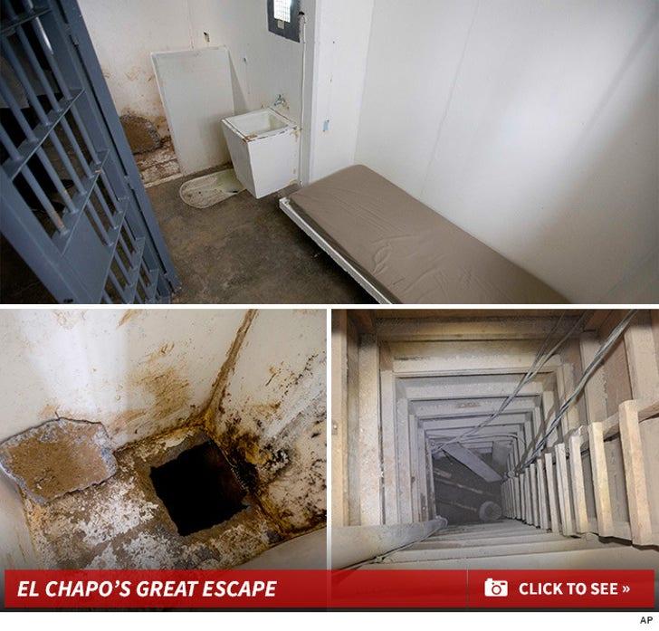 El Chapo's Great Escape Route