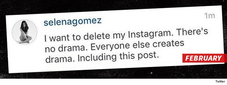 Justin Bieber Says Too Bad, Selena     It IS Too Late to Say