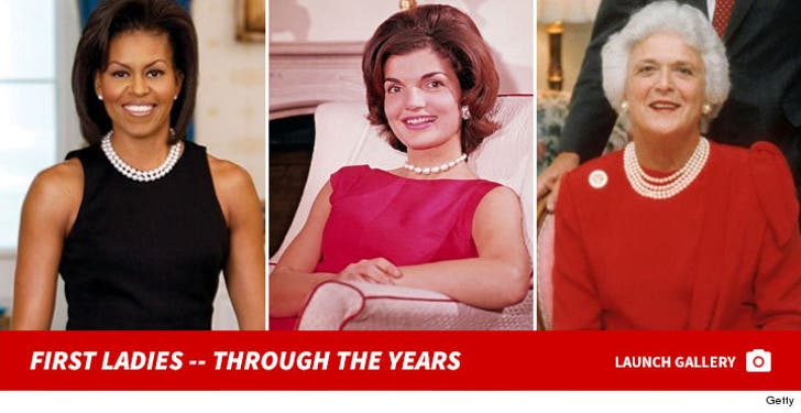 First Ladies -- Through The Years