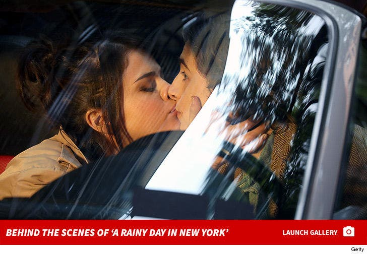 Behind the Scenes of 'A Rainy Day in New York'