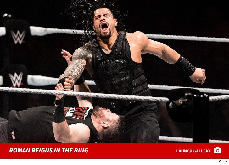 Roman Reigns in the Ring