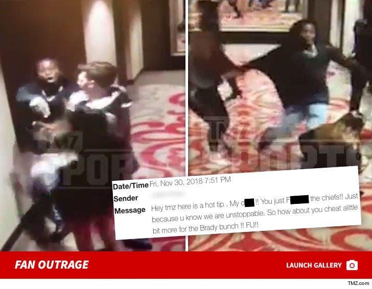 Kareem Hunt Fan Outrage