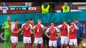 Danish Soccer Star Christian Eriksen Collapses on Field, Receives CPR