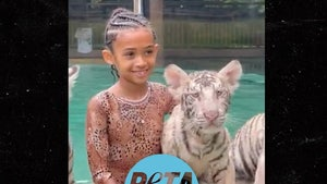 PETA Wants Doc Antle Investigated Over Chris Brown's Daughter's Elephant Ride
