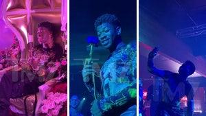 Lil Nas X Parties at His 'Montero' Album Release Party