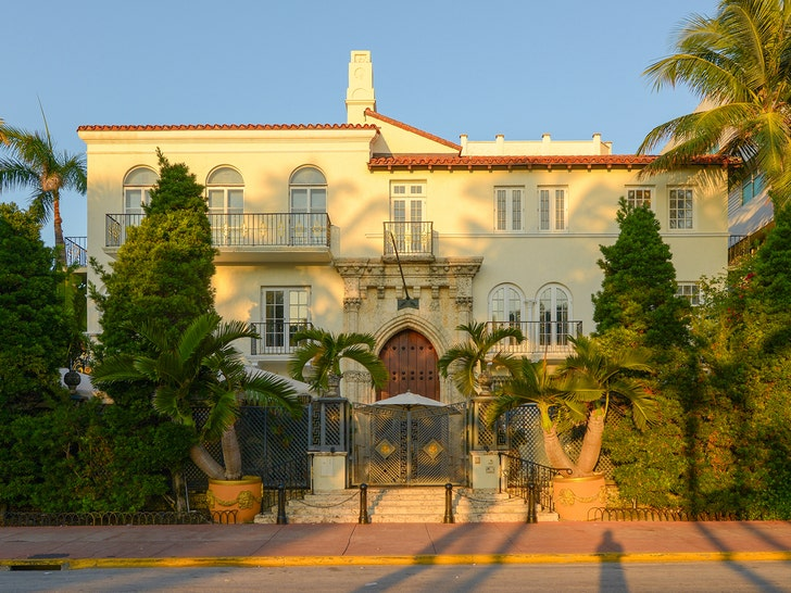 Two Men Found Dead at Versace Mansion in Miami, Apparent Double Suicide
