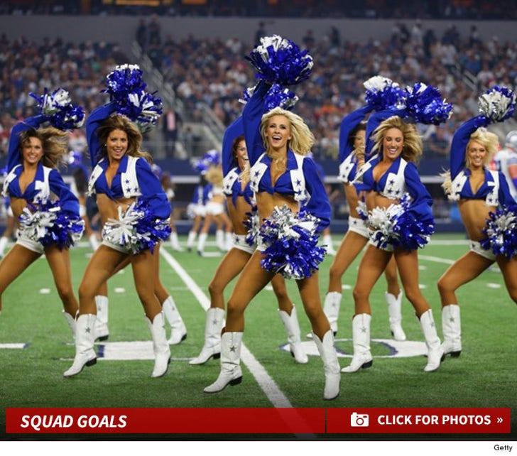 Week One's Best of NFL Cheerleaders -- Squad Goals!