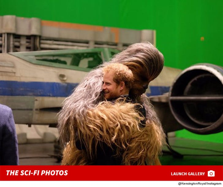 Harry and William -- Star Wars Field Trip