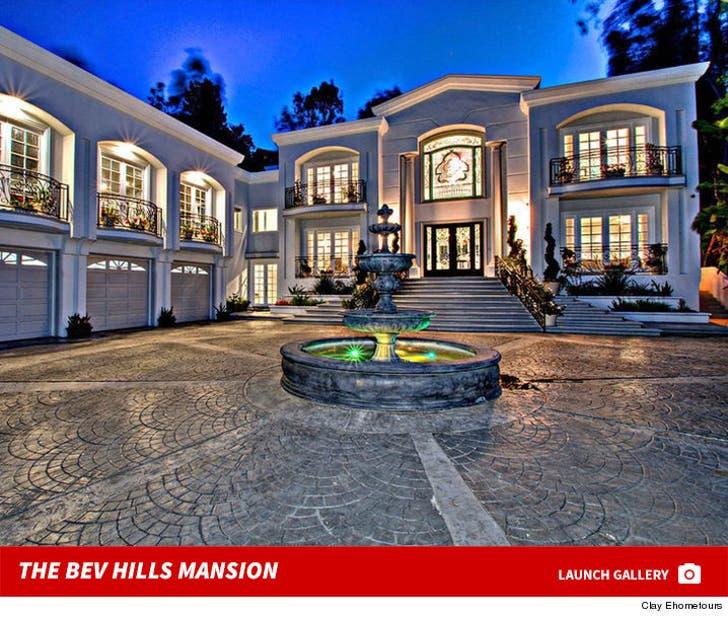 Diddy's Bev Hills Mansion