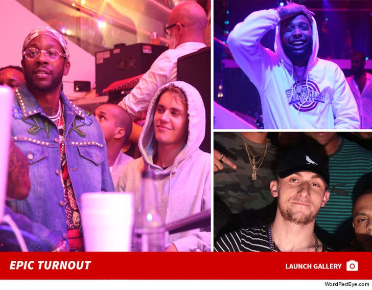 Celebs Party Hard In Miami