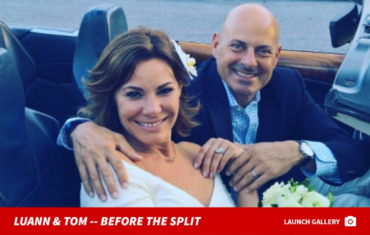 Luann and Tom D'Agostino Together Photos
