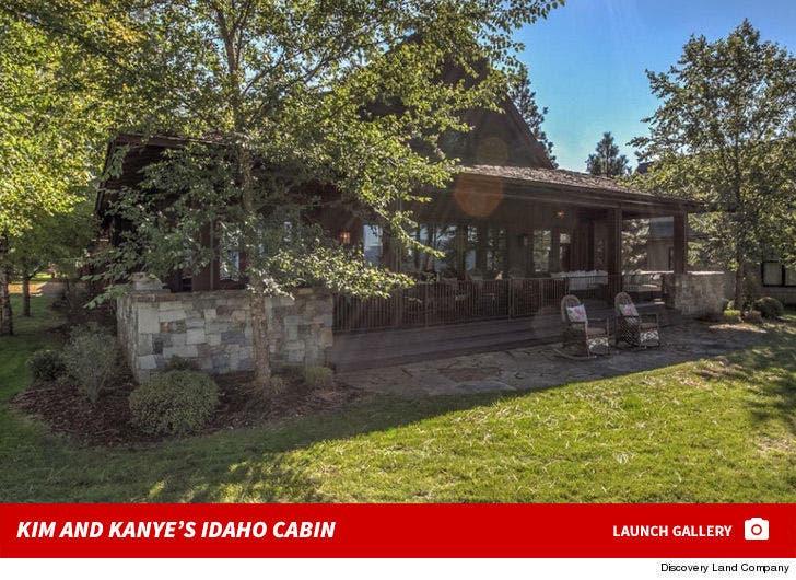 Kim Kardashian and Kanye West's Idaho Cabin