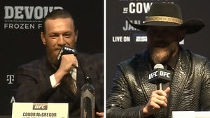 Conor McGregor Kills Cowboy Cerrone With Kindness at UFC 246 Presser