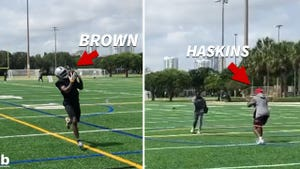Antonio Brown Working Out With Dwayne Haskins In Florida, Future Teammates?!