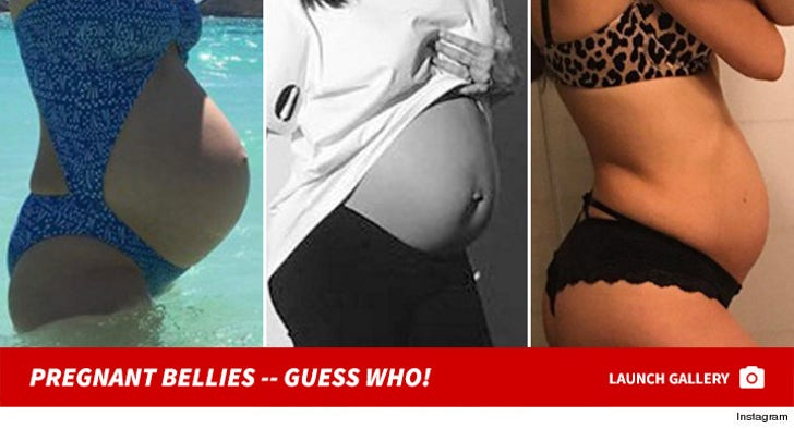 Celebrity Baby Bumps -- Guess the Pregnant Bellies!