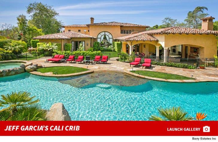 Jeff Garcia's Rancho Sante Fe House