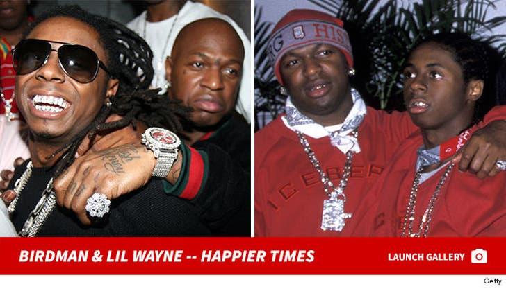 Birdman and Lil Wayne -- Together Photos