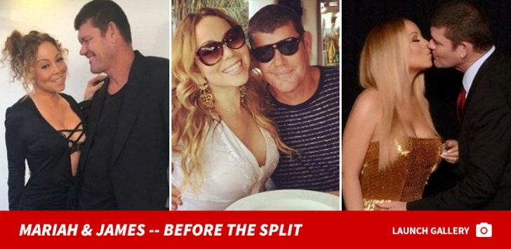 Mariah Carey and James Packer -- Before the Split