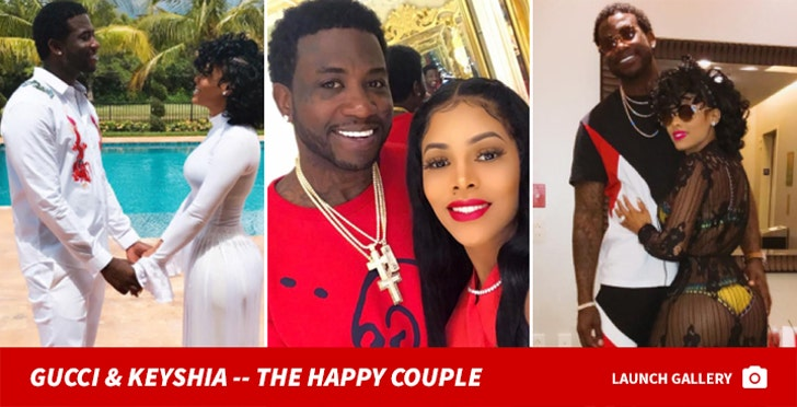 Gucci Mane and Keyshia Ka'oir Together Photos