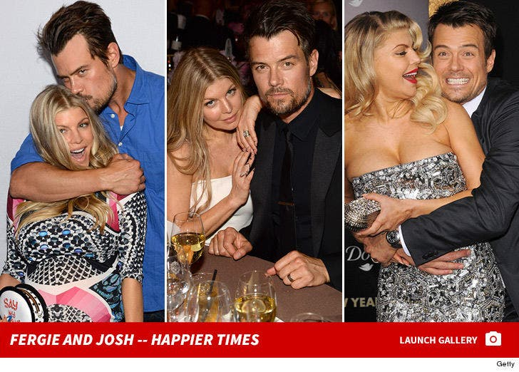 Fergie and Josh -- Happier Times