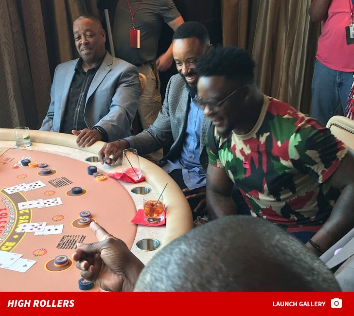 Athletes Charity Blackjack Tournament -- High Rollers