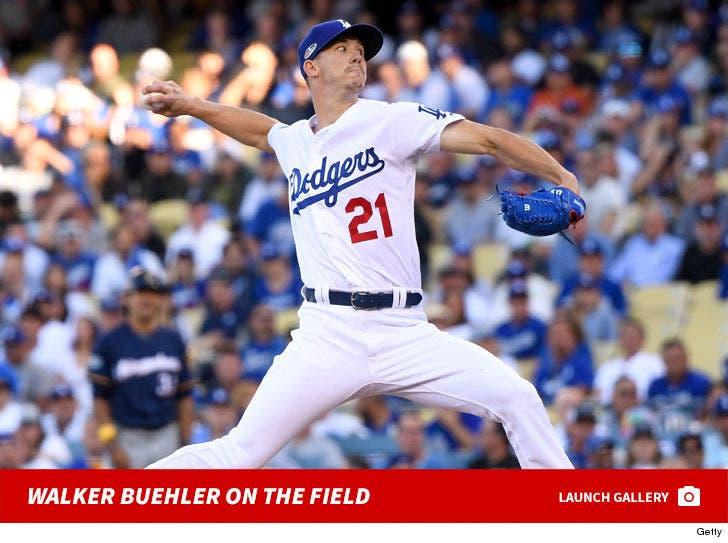 Walker Buehler On The Field