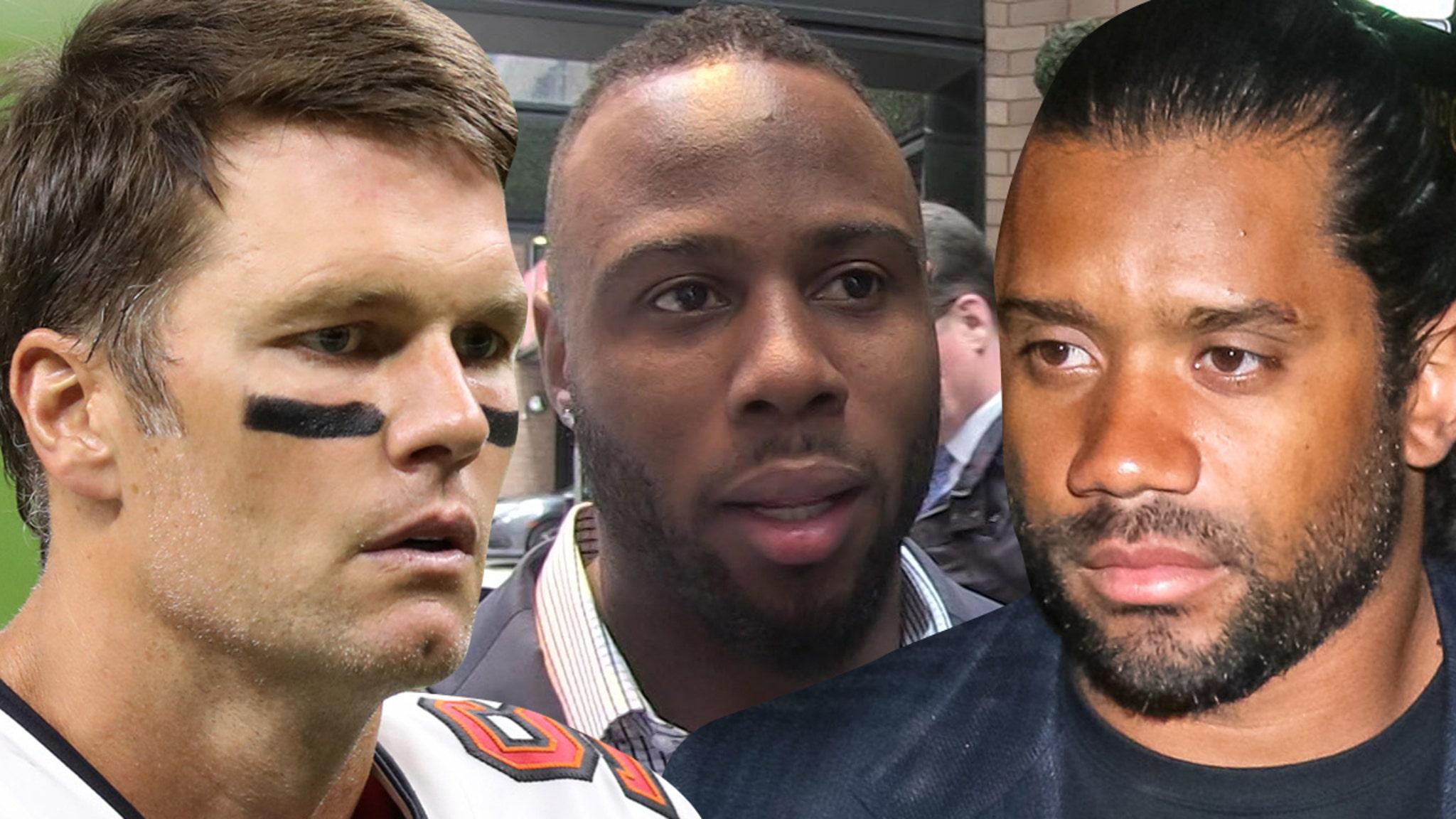 Tom Brady Heartbroken Over James White S Father S Death Russell Wilson Devastated