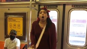 NYC Woman Loses It When Asked to Wear Mask on Subway, Racial Tensions Flare