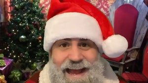 '90 Day Fiance' Star Jon Walters Dyes Beard, Going Full Santa for Holiday Gig