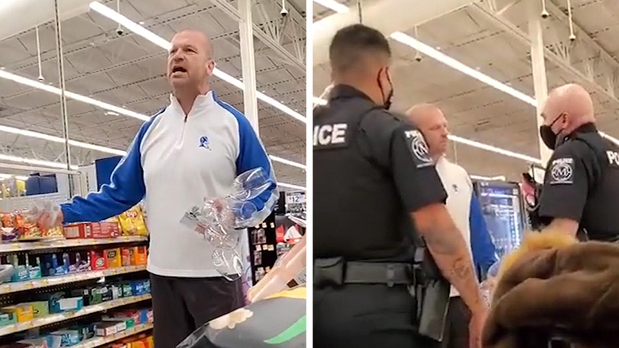 Маленькие детские школы против маскировки в Walmart, «Не будь придурком»