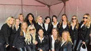 'First Ladies Of Team USA' Pose For Group Snap At Ryder Cup
