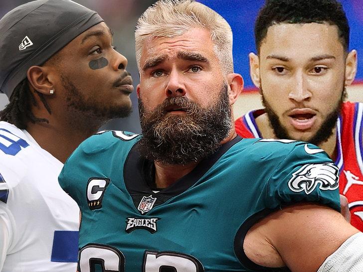 Dallas Cowboys WR Rips Jason Kelce For Ben Simmons Criticism, 'S*** Corny'.jpg