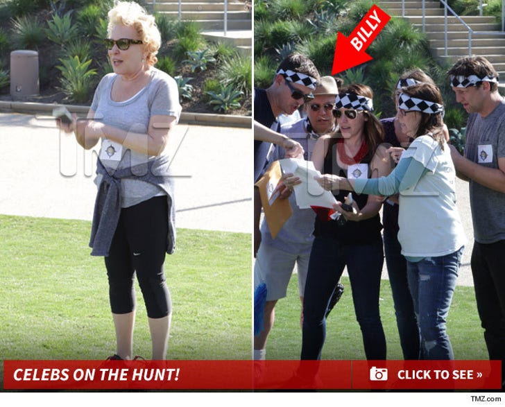 Celebrities on the Hunt -- Bette Midler and Billy Crystal Celebrate